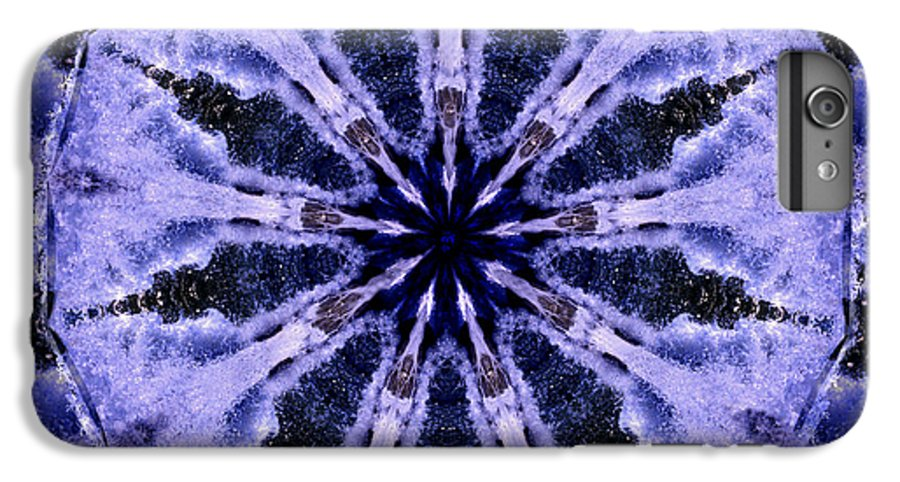 Mandala IPhone 7 Plus Case featuring the digital art Mandala Ocean Wave by Nancy Griswold
