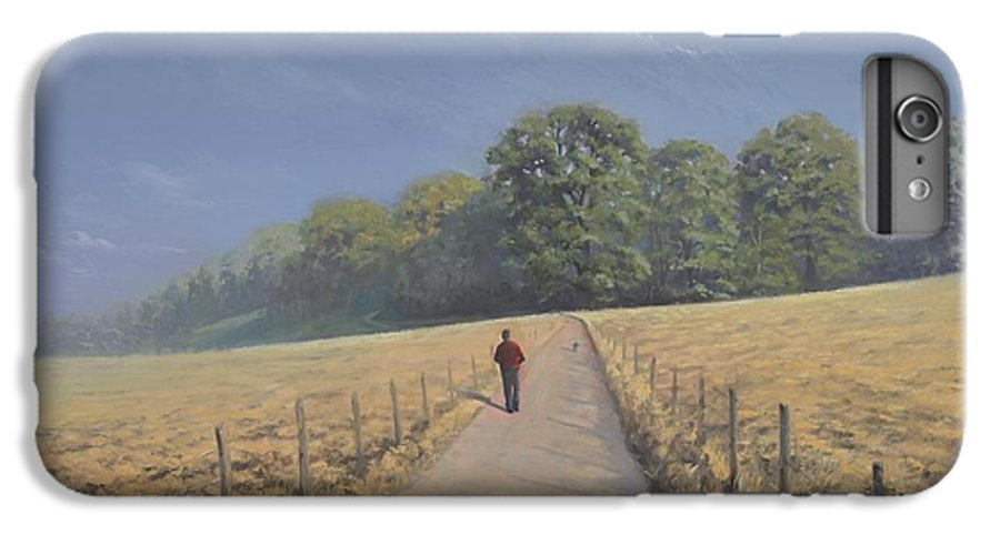 Landscape IPhone 7 Plus Case featuring the painting Mapledurham by Richard Picton