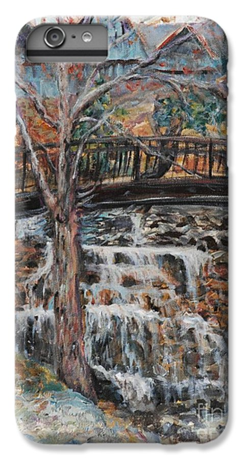 Waterfalls IPhone 7 Plus Case featuring the painting Memories by Nadine Rippelmeyer