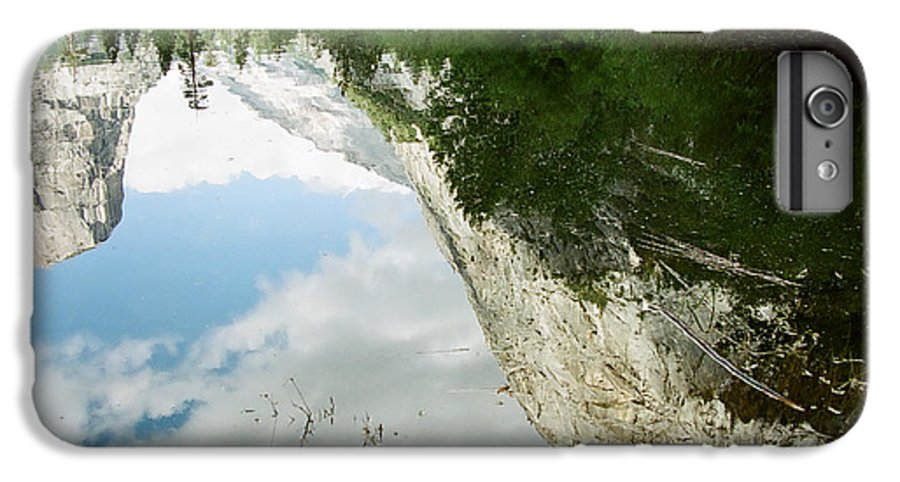 Mirror Lake IPhone 7 Plus Case featuring the photograph Mirrored by Kathy McClure