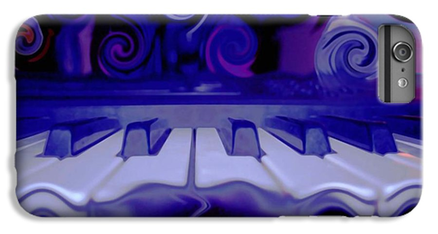 Music IPhone 7 Plus Case featuring the photograph Moody Blues by Linda Sannuti