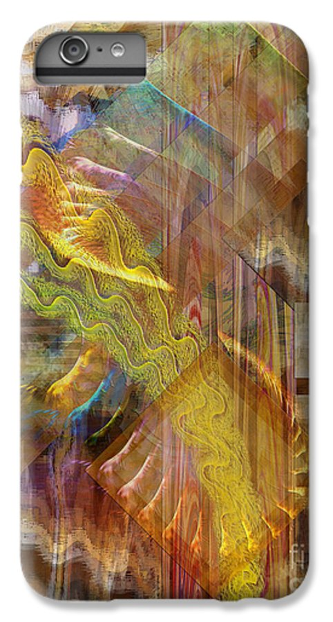 Morning Dance IPhone 7 Plus Case featuring the digital art Morning Dance by John Beck