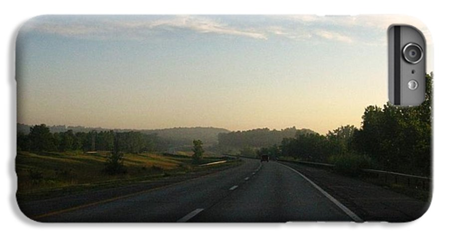 Landscape IPhone 7 Plus Case featuring the photograph Morning Drive by Rhonda Barrett