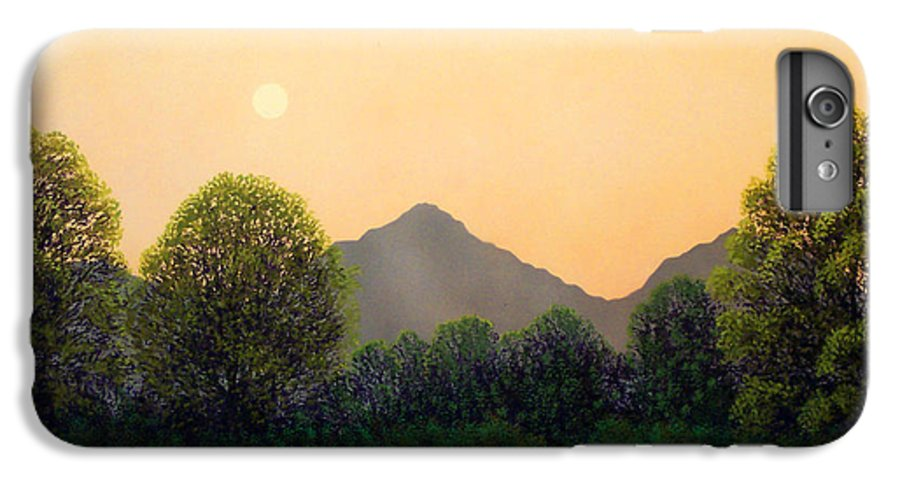 Landscape IPhone 7 Plus Case featuring the painting Morning Light by Frank Wilson