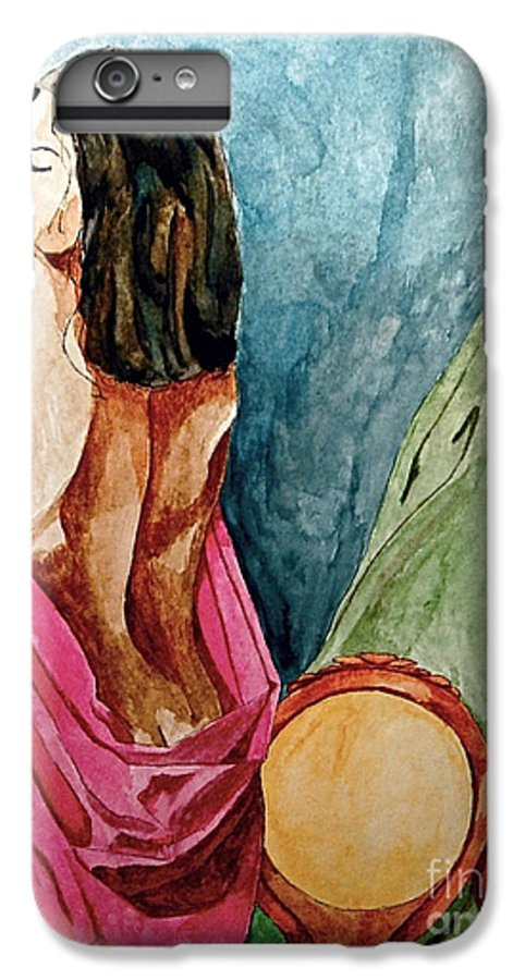 Nudes Women IPhone 7 Plus Case featuring the painting Morning Light by Herschel Fall