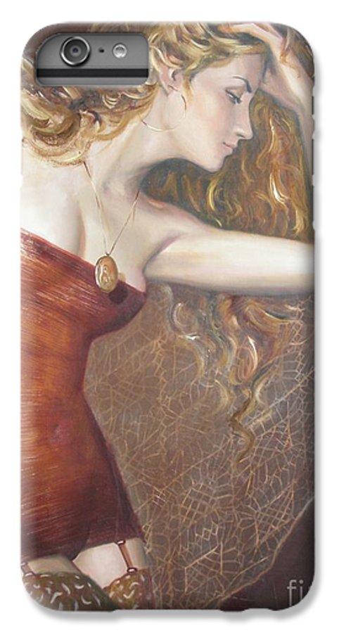 Ignatenko IPhone 7 Plus Case featuring the painting My Talisman by Sergey Ignatenko