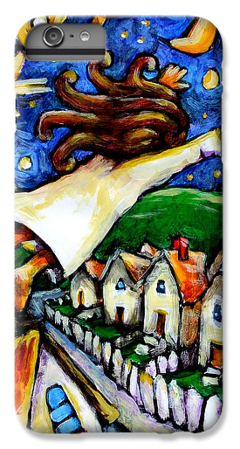 Children IPhone 7 Plus Case featuring the painting Night Fall by Chad Elliott
