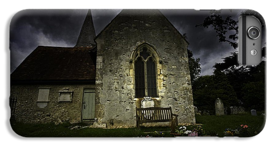 Church IPhone 7 Plus Case featuring the photograph Norman Church At Lissing Hampshire England by Avalon Fine Art Photography