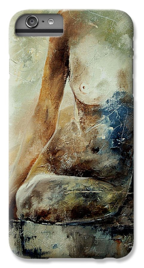 Nude IPhone 7 Plus Case featuring the painting Nude 560408 by Pol Ledent