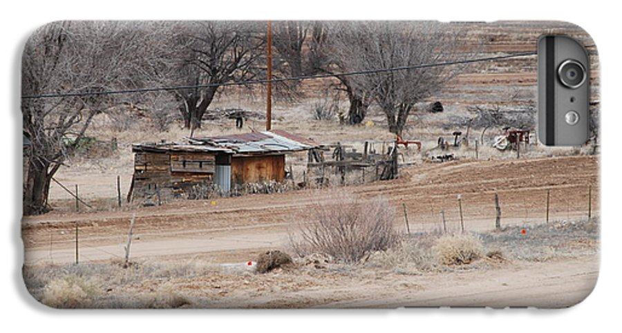 House IPhone 7 Plus Case featuring the photograph Old Ranch House by Rob Hans