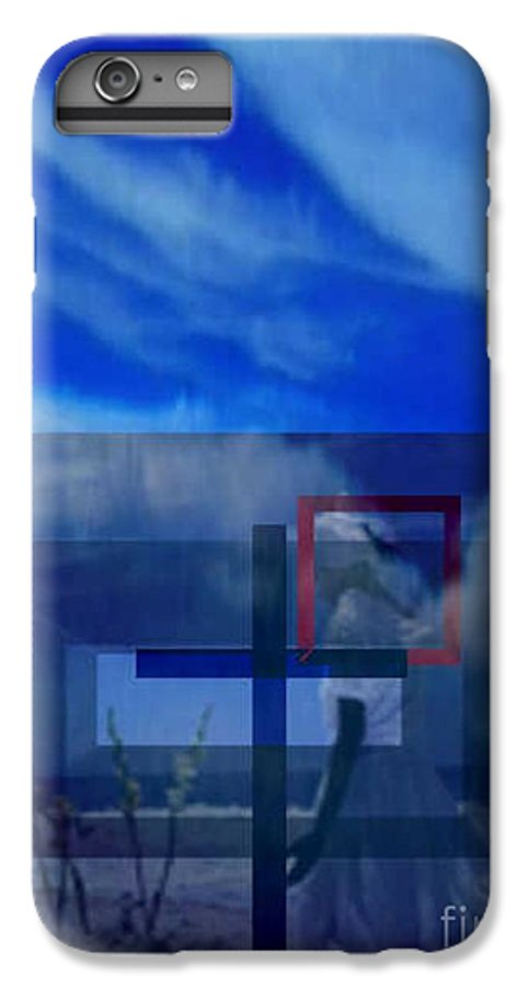 Inspirational IPhone 7 Plus Case featuring the digital art On Bended Knees by Brenda L Spencer