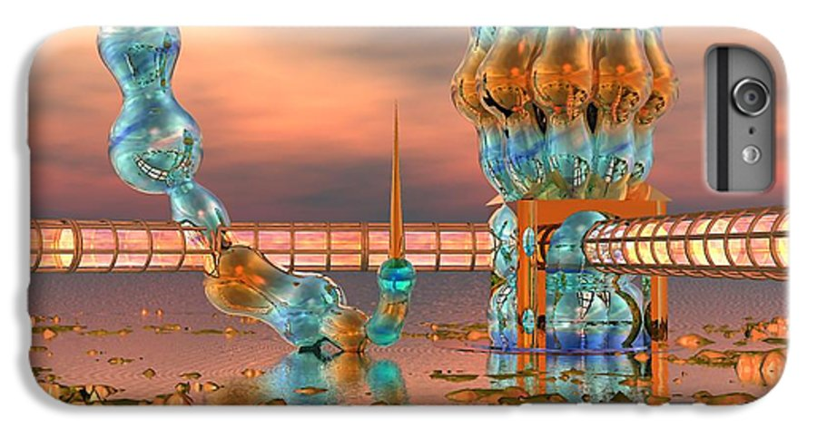 Landscape IPhone 7 Plus Case featuring the digital art On Vacation by Dave Martsolf