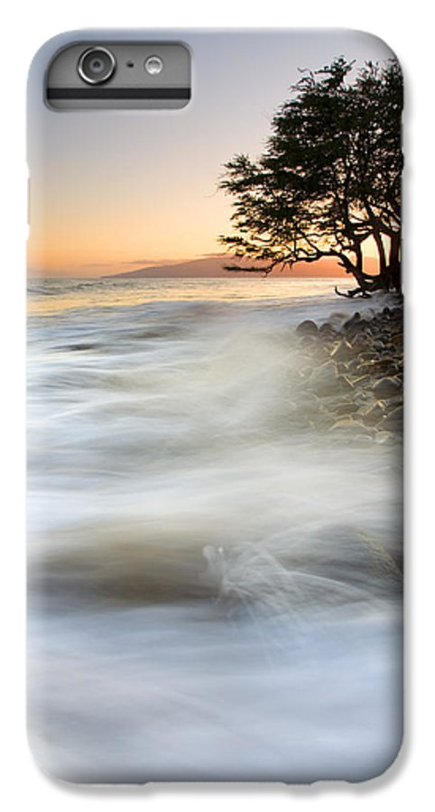 Sunset IPhone 7 Plus Case featuring the photograph One Against The Tides by Mike Dawson
