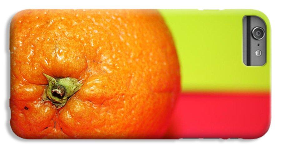 Oranges IPhone 7 Plus Case featuring the photograph Orange by Linda Sannuti