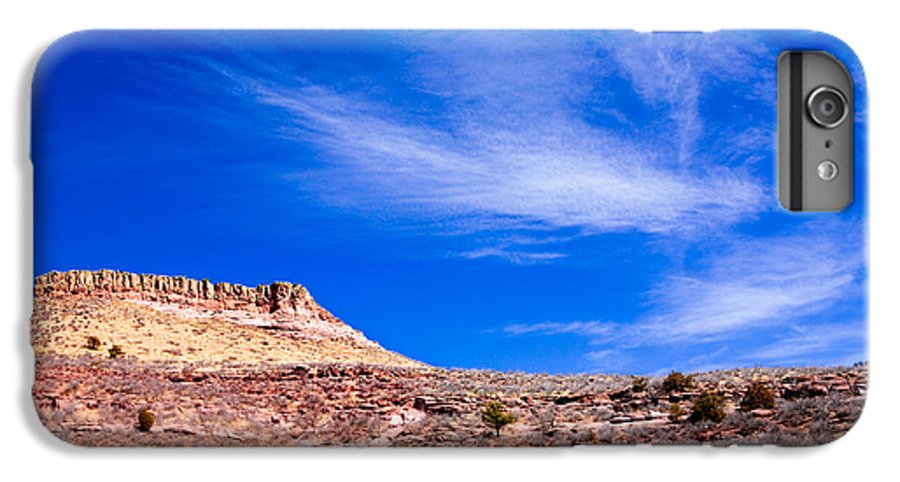 Red IPhone 7 Plus Case featuring the photograph Outside Lyons Colorado by Marilyn Hunt