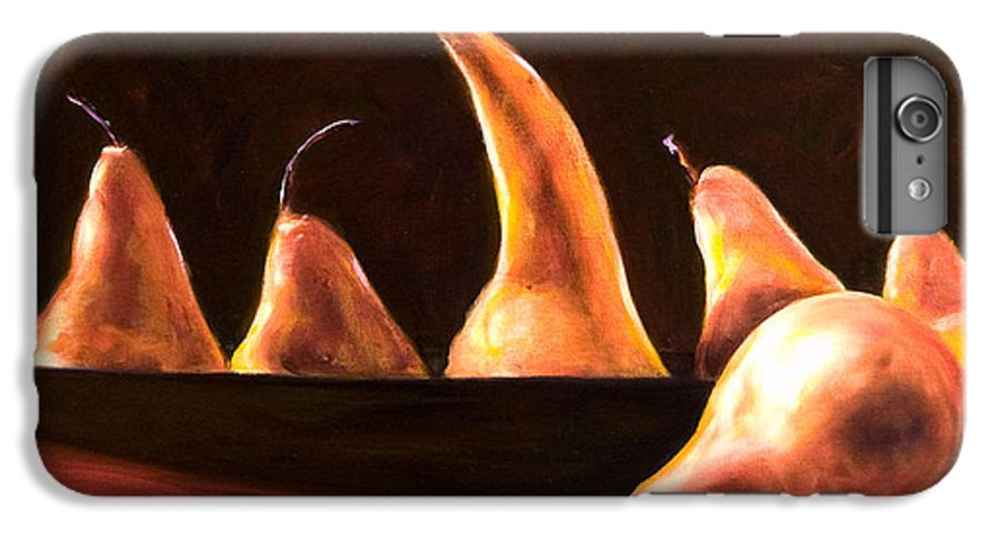 Still Life IPhone 7 Plus Case featuring the painting Overboard by Shannon Grissom