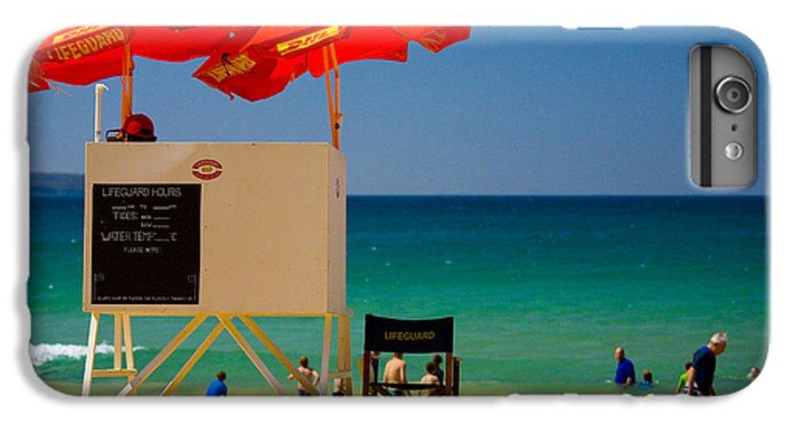 Palm Beach Sun Sea Sky Beach Umbrellas IPhone 7 Plus Case featuring the photograph Palm Beach Dreaming by Sheila Smart Fine Art Photography