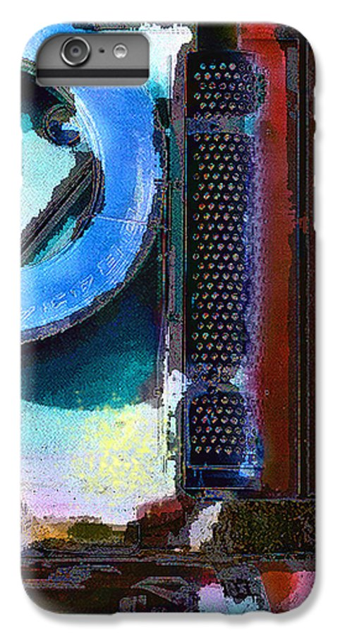 Abstract IPhone 7 Plus Case featuring the photograph panel one from Centrifuge by Steve Karol