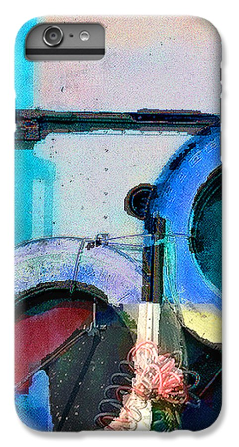 Abstract IPhone 7 Plus Case featuring the photograph panel three from Centrifuge by Steve Karol