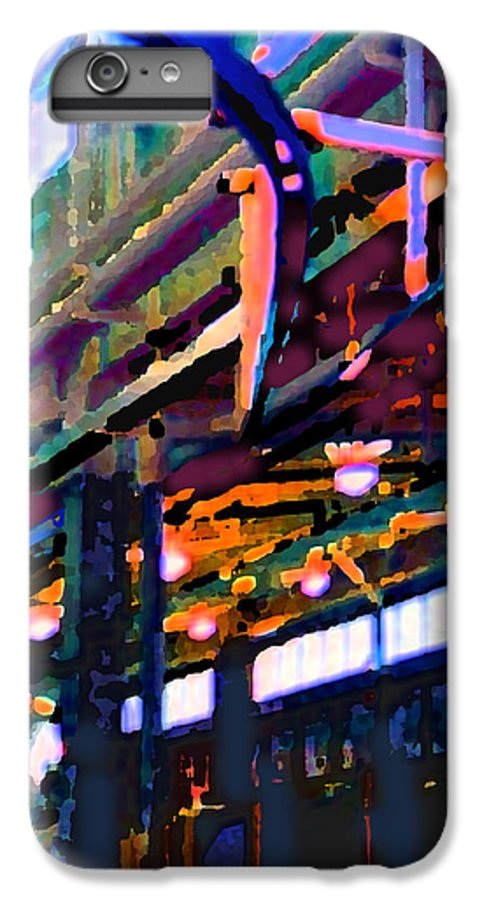Abstract IPhone 7 Plus Case featuring the photograph panel two from Star Factory by Steve Karol