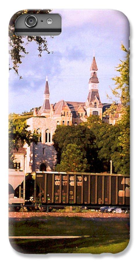 Landscape IPhone 7 Plus Case featuring the photograph Park University by Steve Karol