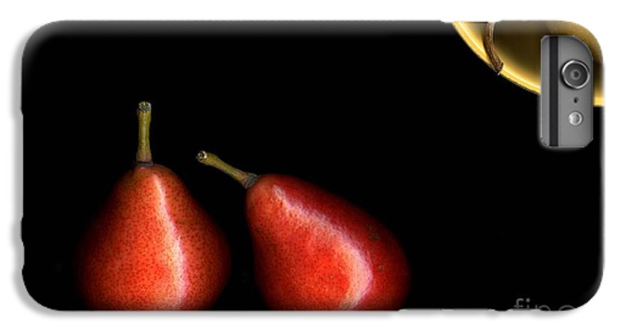 Pears IPhone 7 Plus Case featuring the photograph Pears And Bowl by Christian Slanec