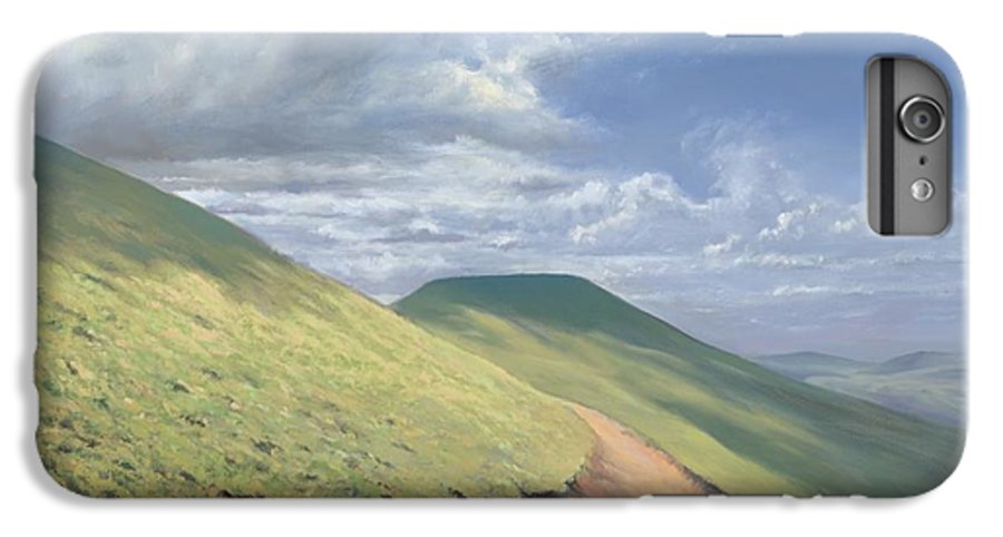 Pen Y Fan IPhone 7 Plus Case featuring the painting Pen Y Fan by Richard Picton