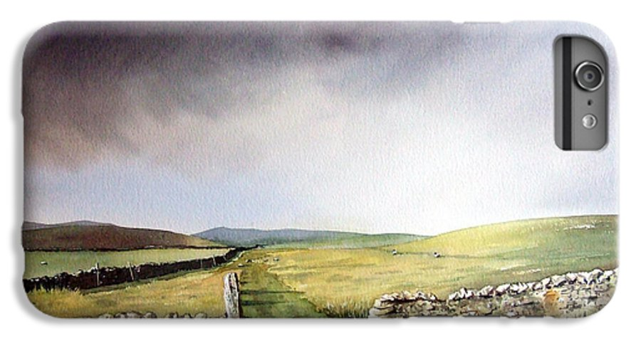 Landscape IPhone 7 Plus Case featuring the painting Pennine Way by Paul Dene Marlor