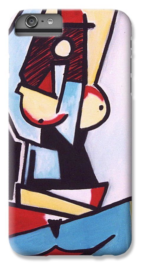 Picasso IPhone 7 Plus Case featuring the painting Picasso by Thomas Valentine