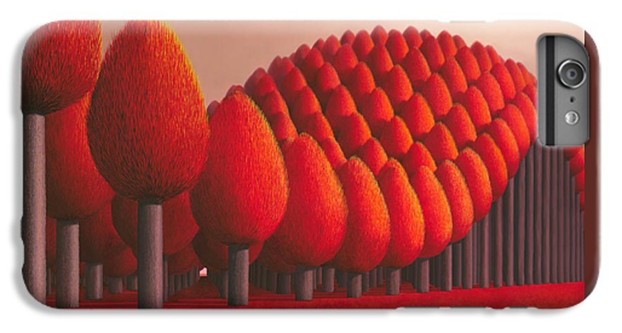Tree IPhone 7 Plus Case featuring the painting Populus Flucta by Patricia Van Lubeck