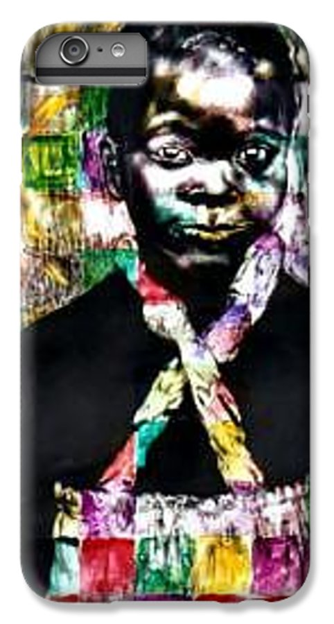 Portrait IPhone 7 Plus Case featuring the mixed media Precious by Chester Elmore