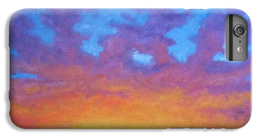 Landscape IPhone 7 Plus Case featuring the painting Radiance by Brian Commerford