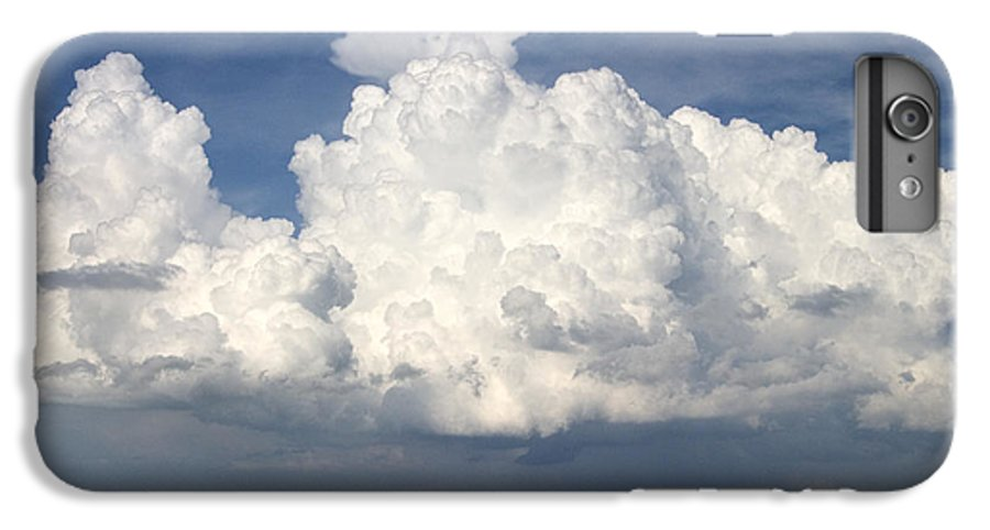 Clouds IPhone 7 Plus Case featuring the photograph Rain Clouds Over Lake Apopka by Carl Purcell
