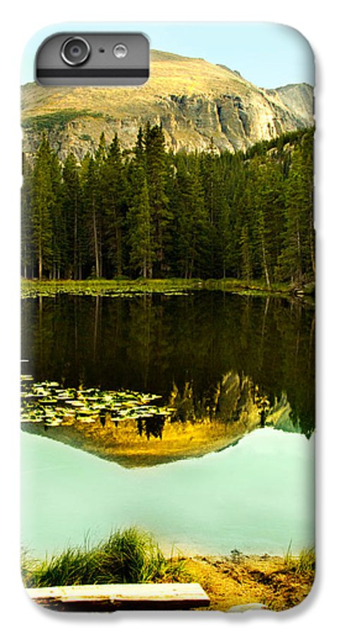 Reflection IPhone 7 Plus Case featuring the photograph Reflection by Marilyn Hunt