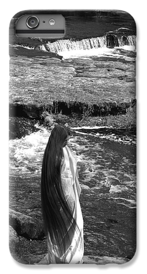 Woman IPhone 7 Plus Case featuring the photograph Return To The Falls by Debbie May