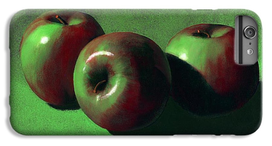 Still Life IPhone 7 Plus Case featuring the painting Ripe Apples by Frank Wilson