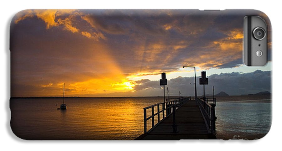 Sunrise IPhone 7 Plus Case featuring the photograph Salamander Bay Sunrise by Avalon Fine Art Photography