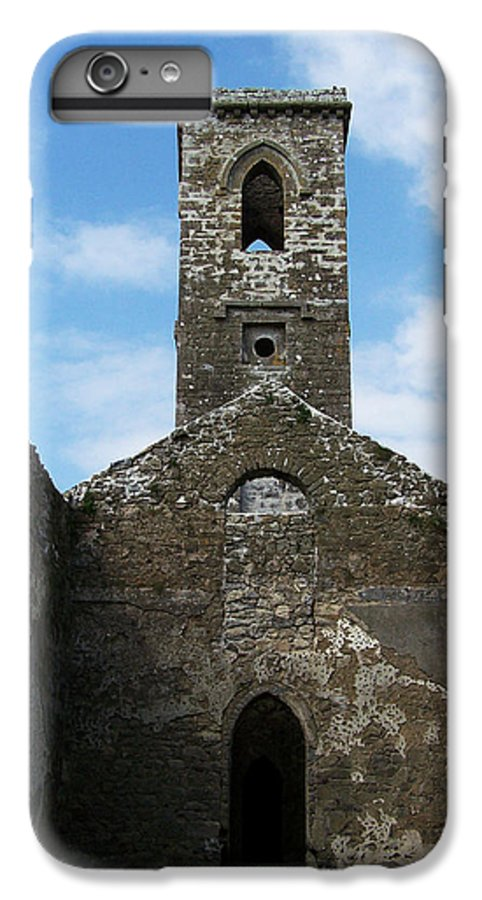 Ireland IPhone 7 Plus Case featuring the photograph Sanctuary Fuerty Church Roscommon Ireland by Teresa Mucha
