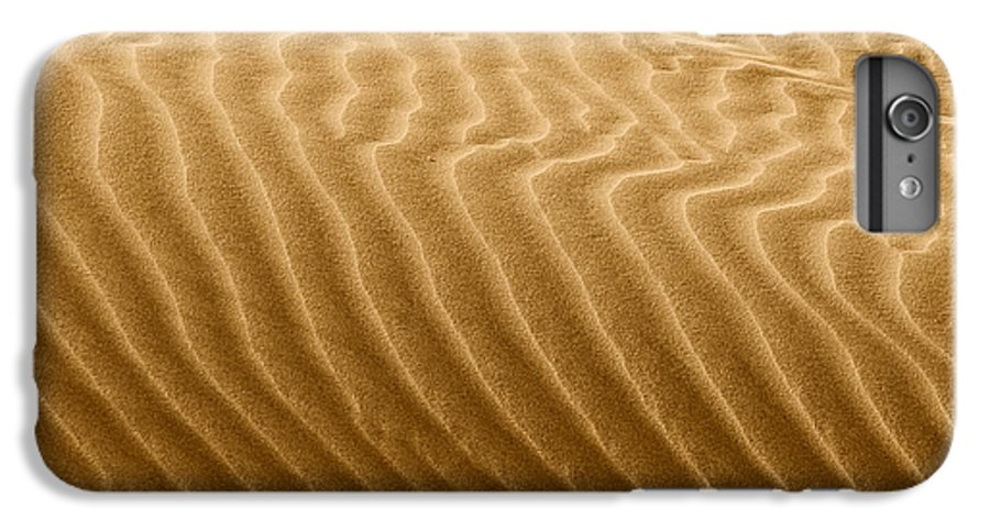 Sand IPhone 7 Plus Case featuring the photograph Sand Dune Mojave Desert California by Christine Till