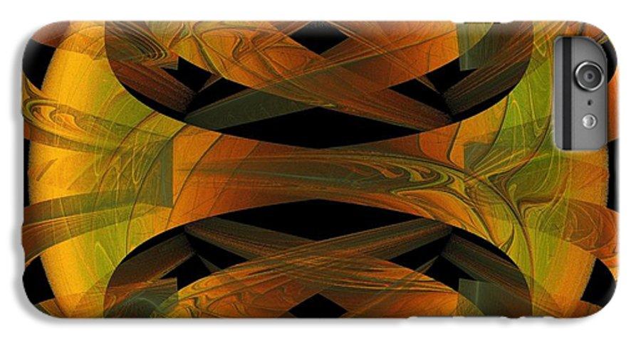 Digital Art IPhone 7 Plus Case featuring the digital art Scarab by Amanda Moore