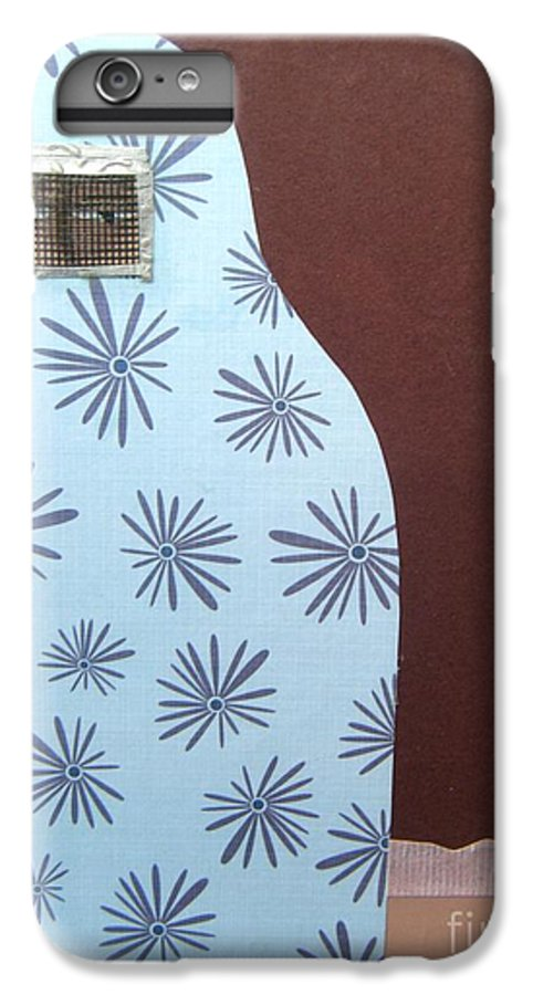 Woman IPhone 7 Plus Case featuring the mixed media Screen To The World by Debra Bretton Robinson