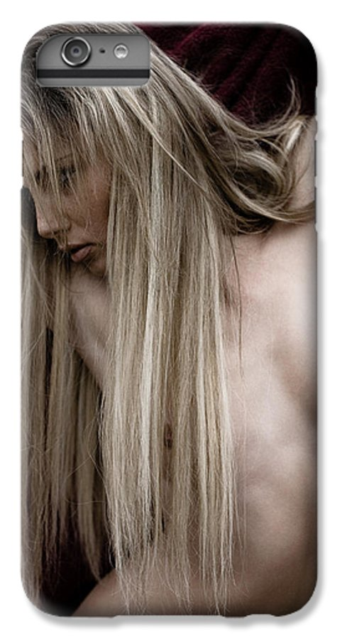 Sensual IPhone 7 Plus Case featuring the photograph See Me by Olivier De Rycke