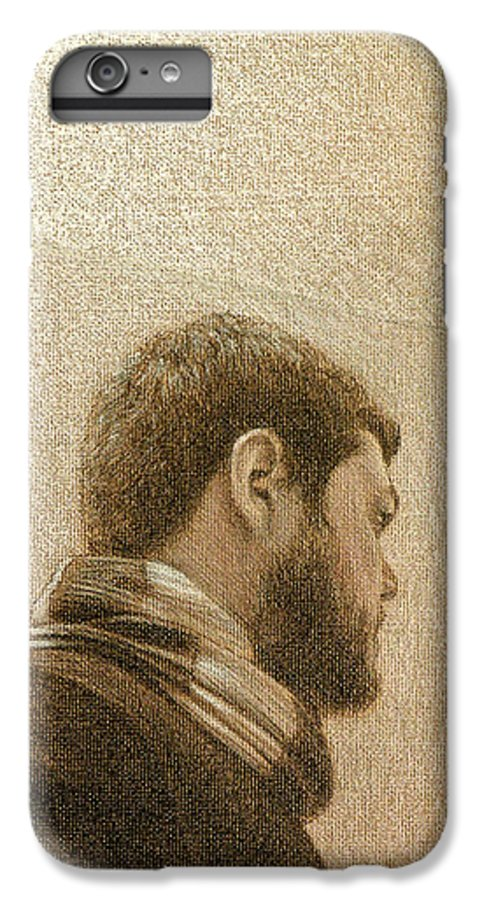 IPhone 7 Plus Case featuring the painting Self by Joe Velez