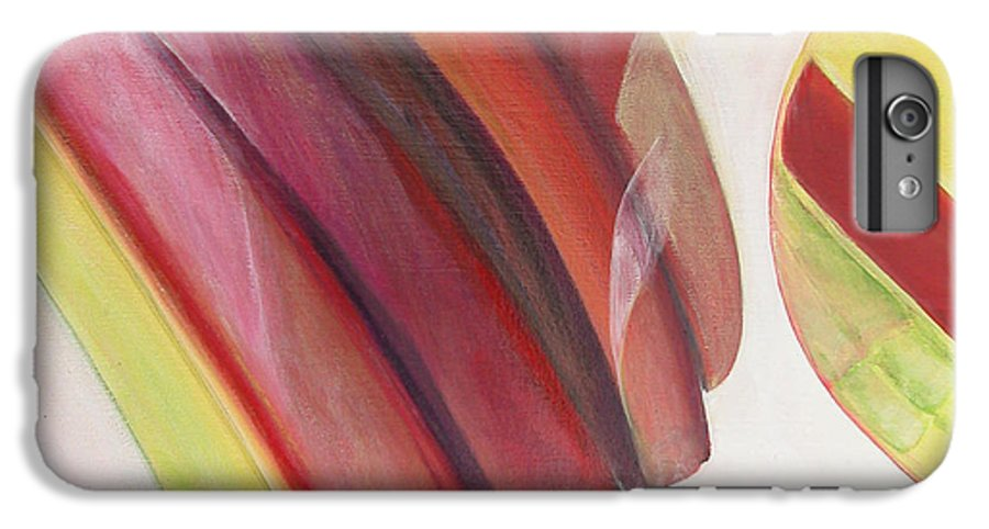 Abstract IPhone 7 Plus Case featuring the painting Sens 3 by Muriel Dolemieux