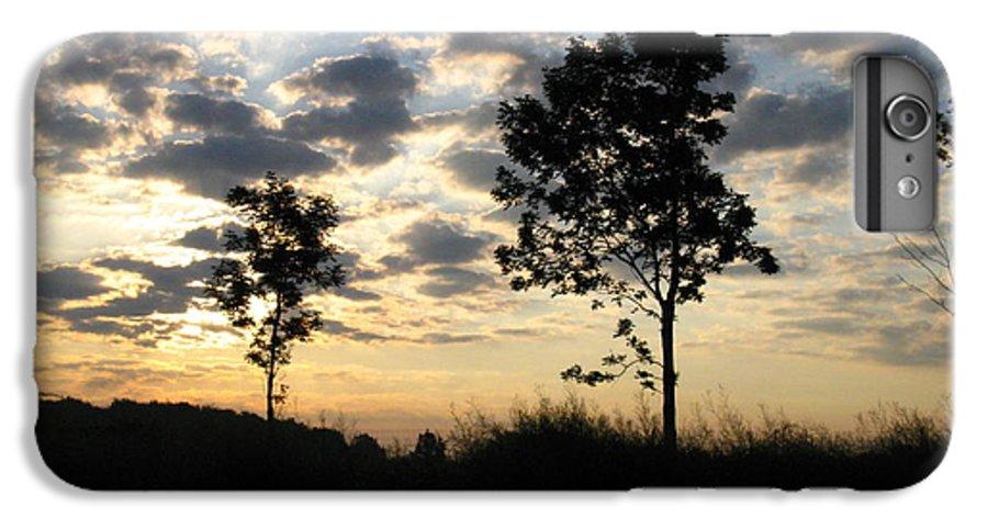 Landscape IPhone 7 Plus Case featuring the photograph Silhouette by Rhonda Barrett