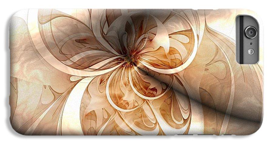 Digital Art IPhone 7 Plus Case featuring the digital art Silk by Amanda Moore