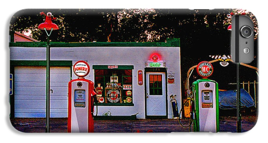 Gas Station IPhone 7 Plus Case featuring the photograph Sinclair by Steve Karol