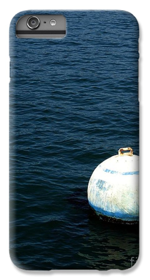 Seascape IPhone 7 Plus Case featuring the photograph Sit And Bounce by Shelley Jones