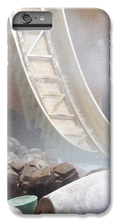 Slide IPhone 7 Plus Case featuring the photograph Slide Splash by Pharris Art