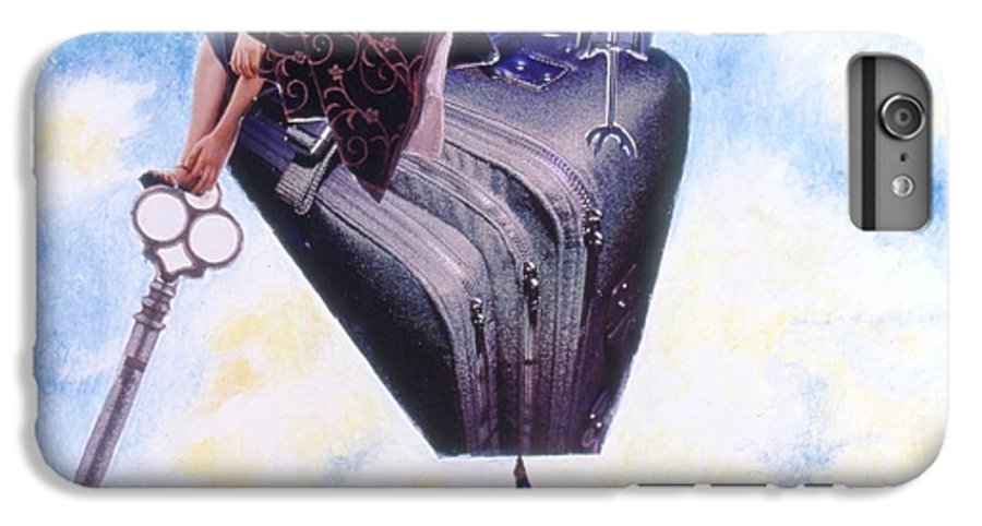Twin Towers IPhone 7 Plus Case featuring the drawing Soap Scene #11 Seek The Love Within by Minaz Jantz